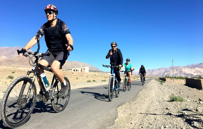 Mountain Biking (Optional) and Leh to Kargil_Day 3