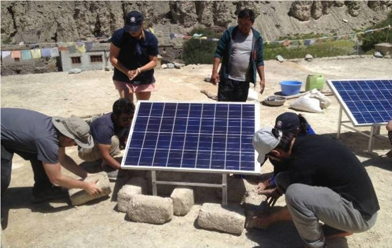 Solar Grids Setup and Interaction with Community_Day 7
