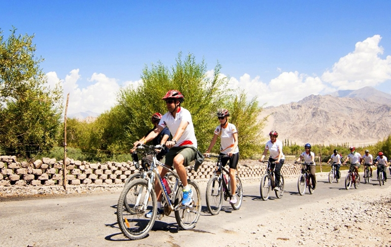 Mountain Biking (Optional) and Leh to Photoksar_Day 3