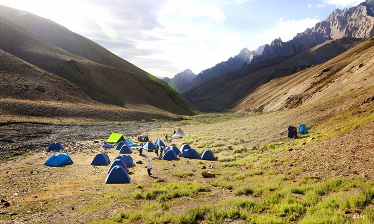 Camping in Changthang valley